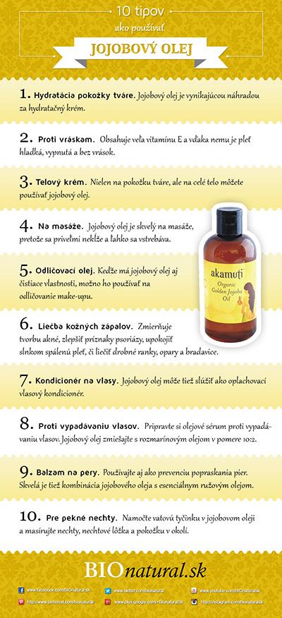 10 tipov ako používať jojobový olej
