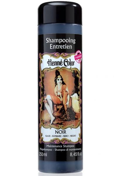 Prírodný šampón na vlasy s hennou čierny