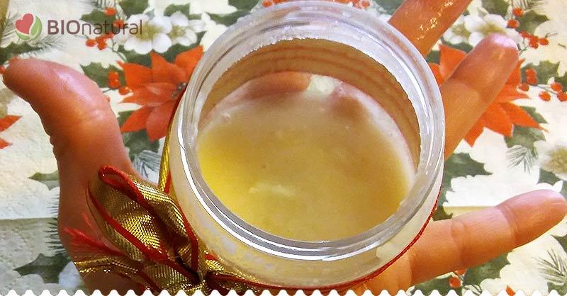 Vianočný pomarančový píling