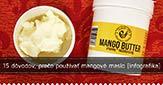 15 dôvodov prečo používať mangové maslo [Infografika]