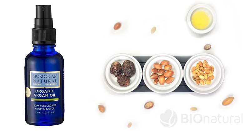 Bio arganový olej Moroccan Natural - suchá a starnúca pleť