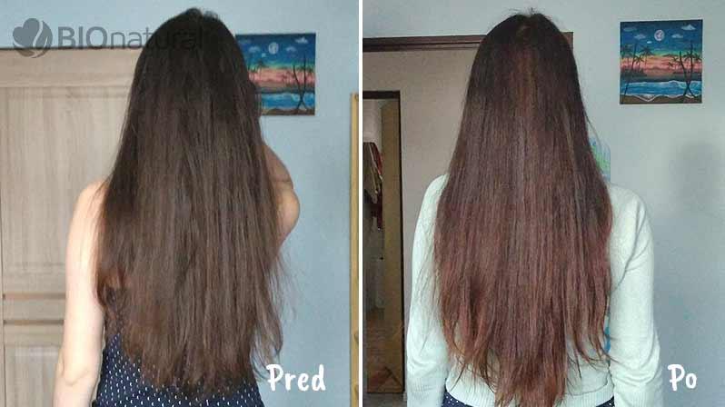 Mahagónová a medená henna na vlasy