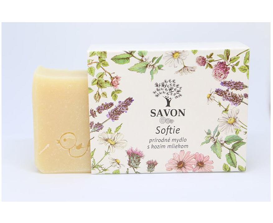 Savon Prírodné mydlo s kozím mliekom Softie, 100 g