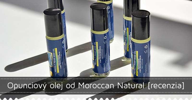 Opunciový olej od Moroccan Natural – recenzia