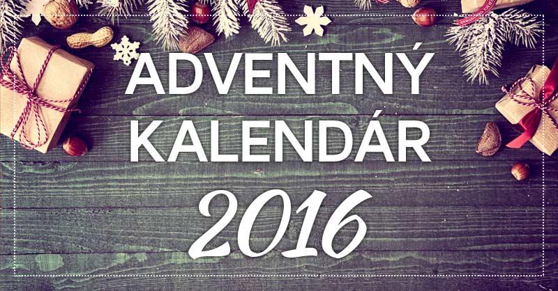 Adventný kalendár 2016