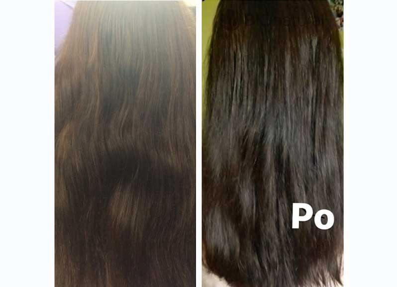 Hnedá henna na vlasy