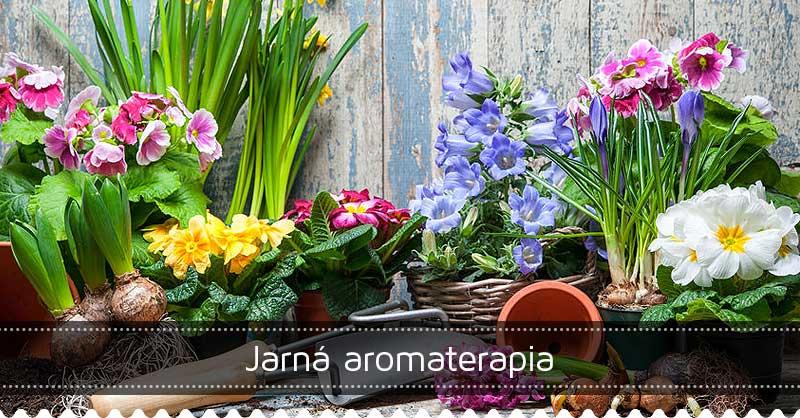 Jarná aromaterapia