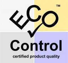 Certifikát EcoControl