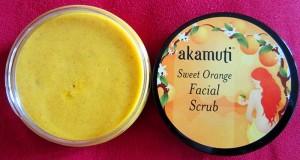 Divoký pomaranč, pleťový píling od Akamuti