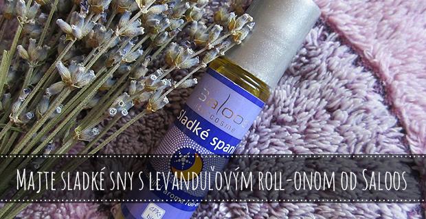 Majte sladké sny s levanduľovým roll-onom od Saloos [Recenzia]