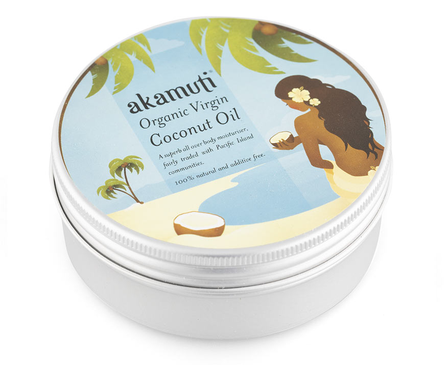 Akamuti Bio panenský kokosový olej 175 g