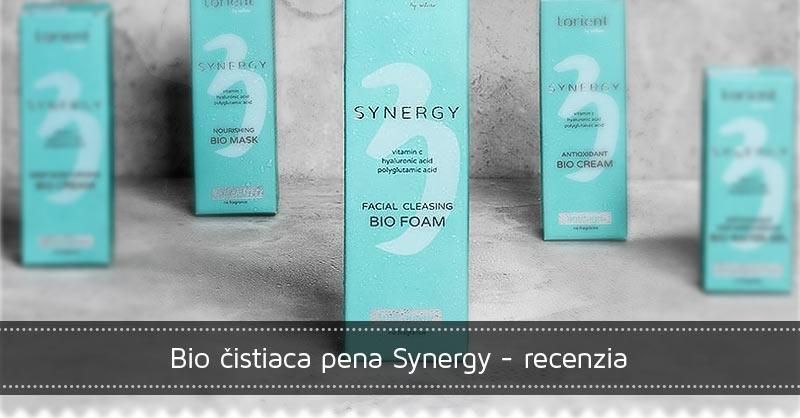 Bio čistiaca pena Synergy recenzia