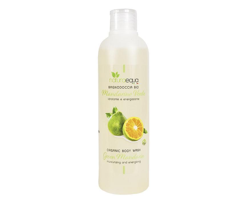 NaturaEqua Bio sprchový gél Zelená mandarínka 250 ml
