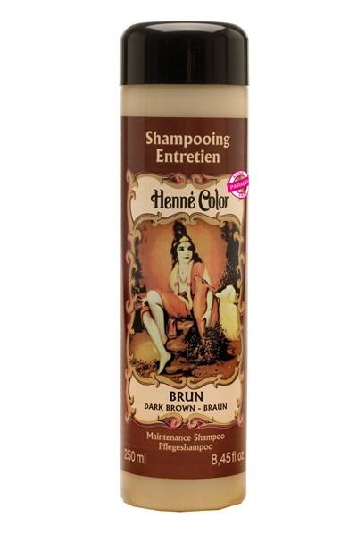 Hnedý prírodný šampón s výťažkom z henny