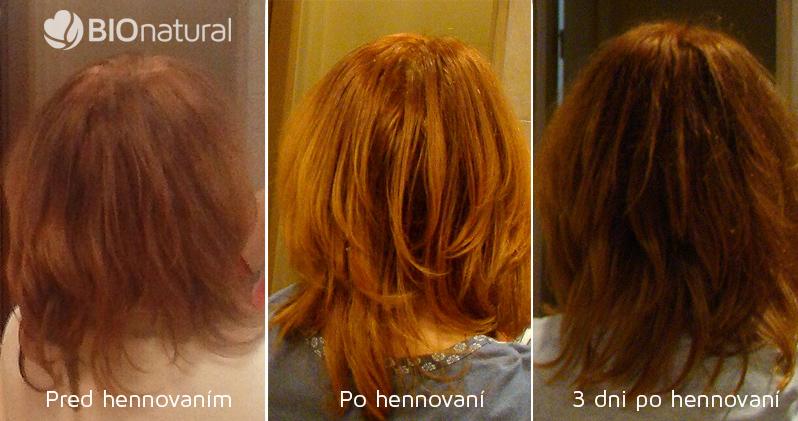 Henna BAQ - henna na vlasy