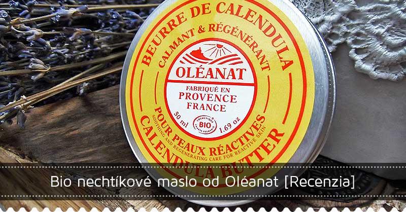 Bio nechtíkové maslo od Oléanat – recenzia