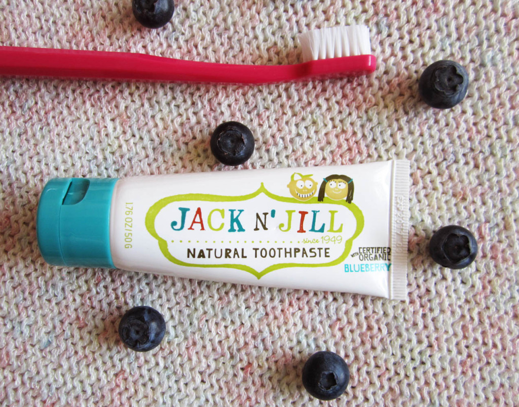 Prírodná zubná pasta Jack n Jill