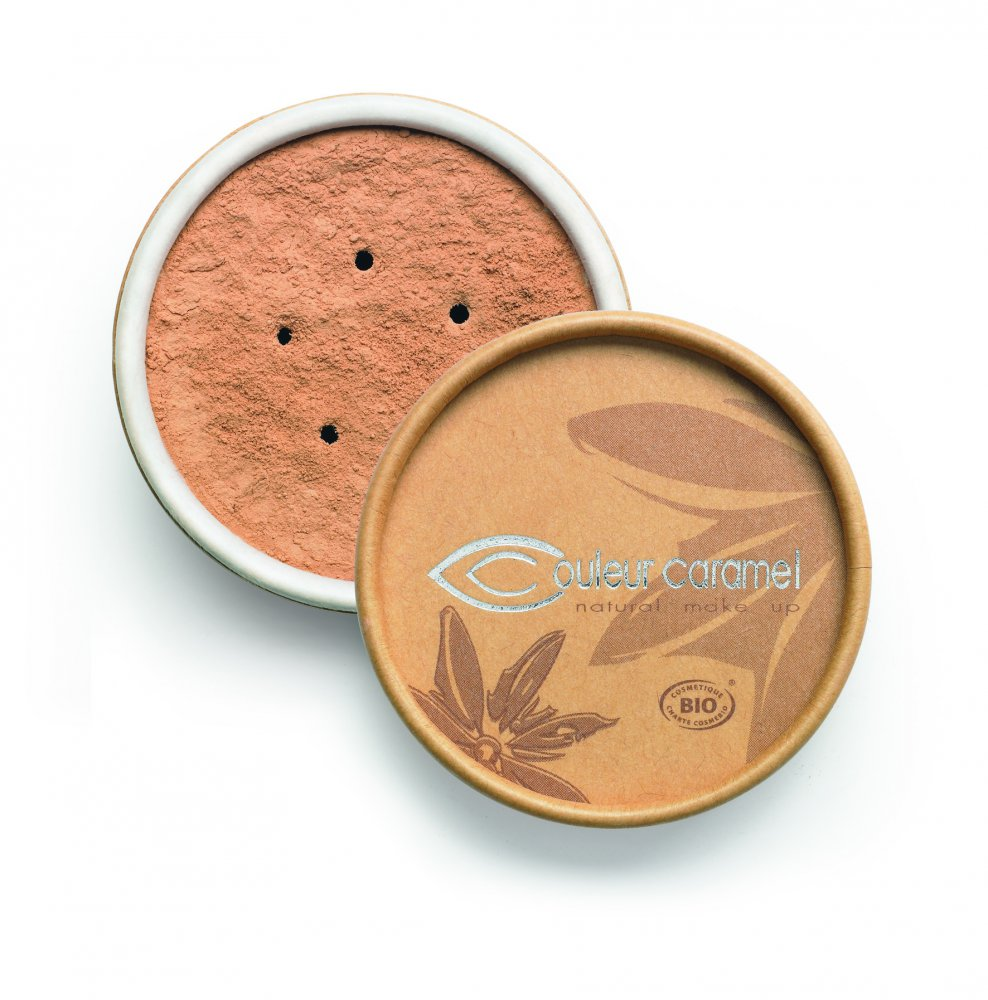 Couleur Caramel Bio minerálny make-up 6g Light brown