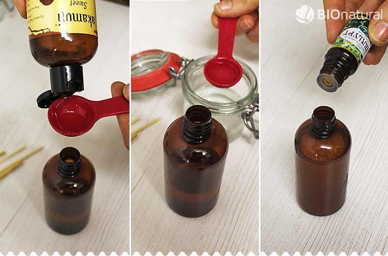 DIY aromatický difuzer - postup výroby