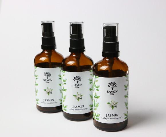 Savon Jazmín - telový a masážny olej 100 ml