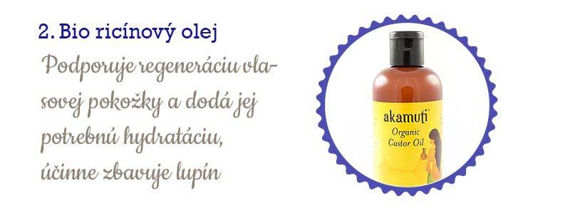 11 najlepších olejov na vlasy - ricínový