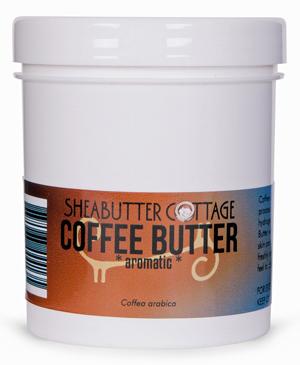 Kávové maslo značky Sheabutter Cottage