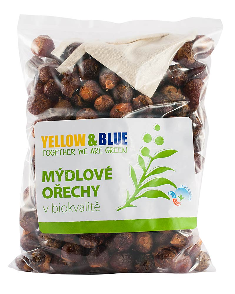 Yellow and Blue Mydlové orechy 500 g