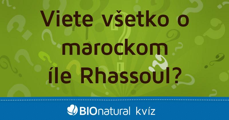 Vieš všetko o marockom íle Rhassoul?