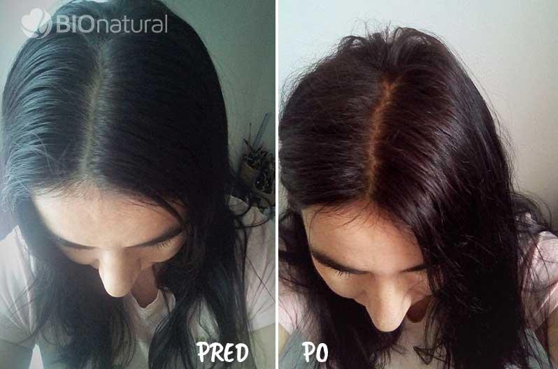Čierna henna na vlasy