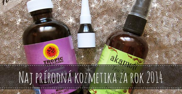 Naj prírodná kozmetika za rok 2014