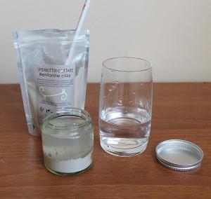 Príprava bentonítovej pasty