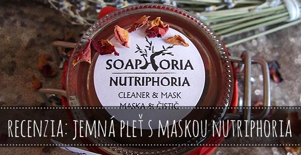 Recenzia: Jemná pleť s maskou Nutriphoria