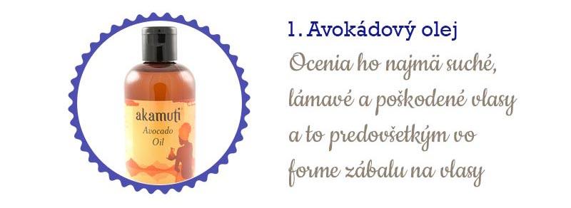 11 najlepších olejov na vlasy - avokádový