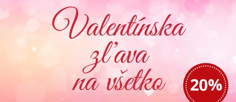 Valentínska zľava na všetko