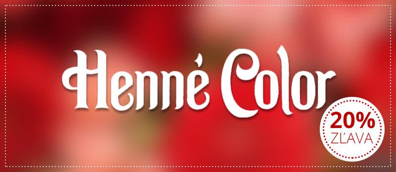 Zľava 20% na Henné Color Paris