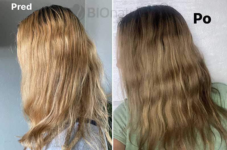 Hnedá a čierna henna na vlasy