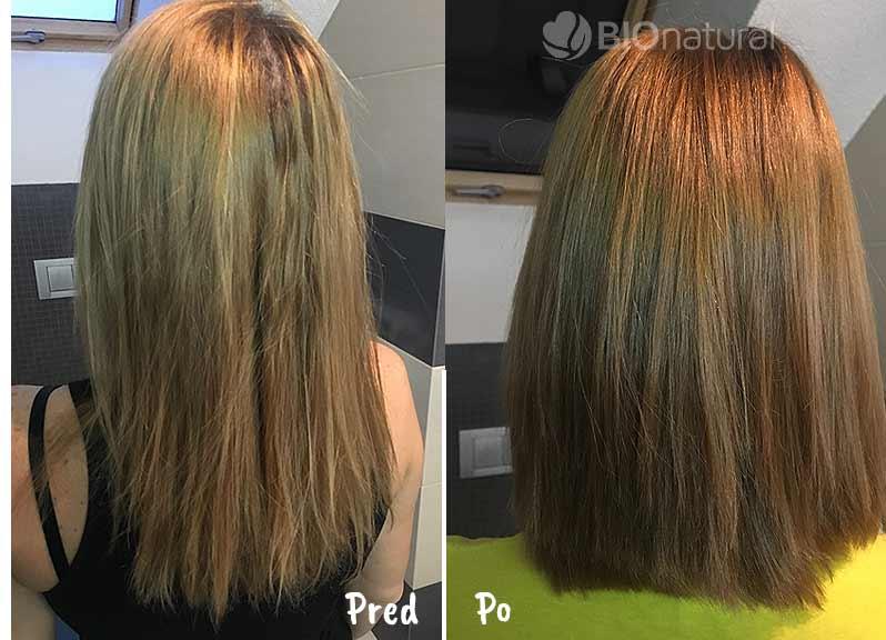 Gaštanová henna na vlasy