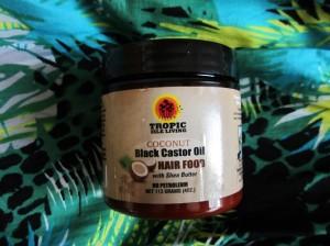 Vlasová výživa s kokosom a čiernym ricínovým olejom