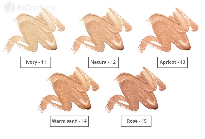 5 odtieňov tekutého make-upu Couleur Caramel