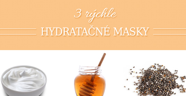 Na tvári máš raňajky! Alebo rýchle hydratačné masky [Infografika]