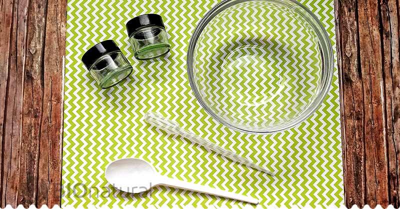 DIY balzam na pery s vanilkou a levanduľou - pomôcky