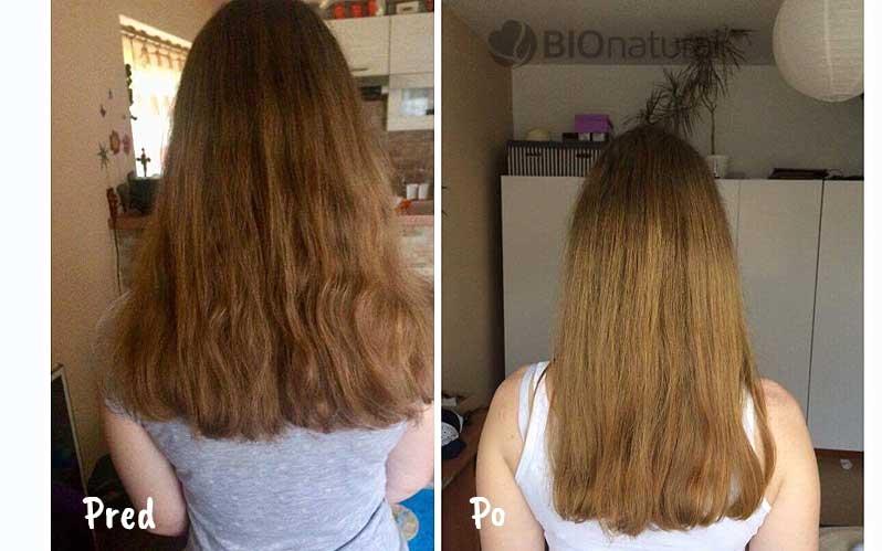 Blond henna na vlasy