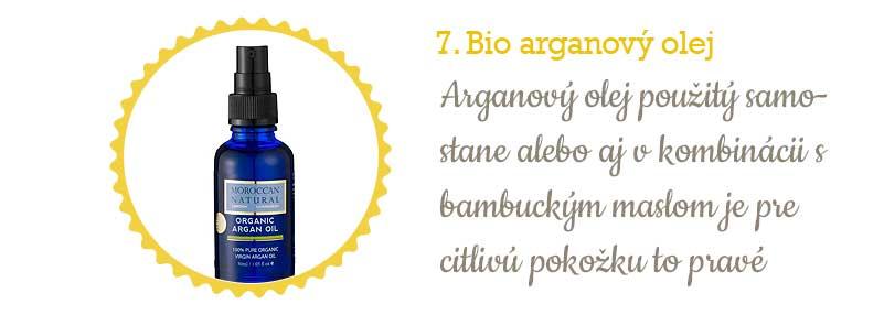 Citlivá pleť - arganový olej