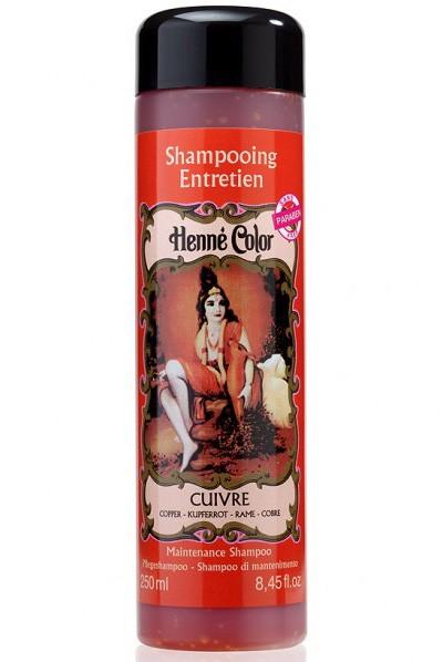 Prírodný šampón na vlasy s hennou medený
