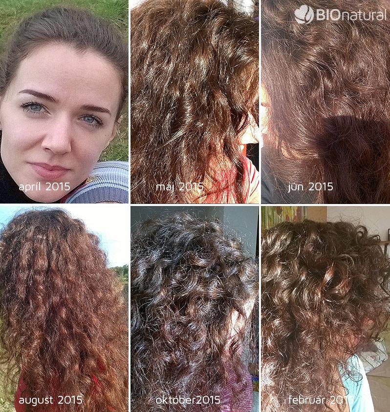 Hnedá a gaštanová henna na vlasy