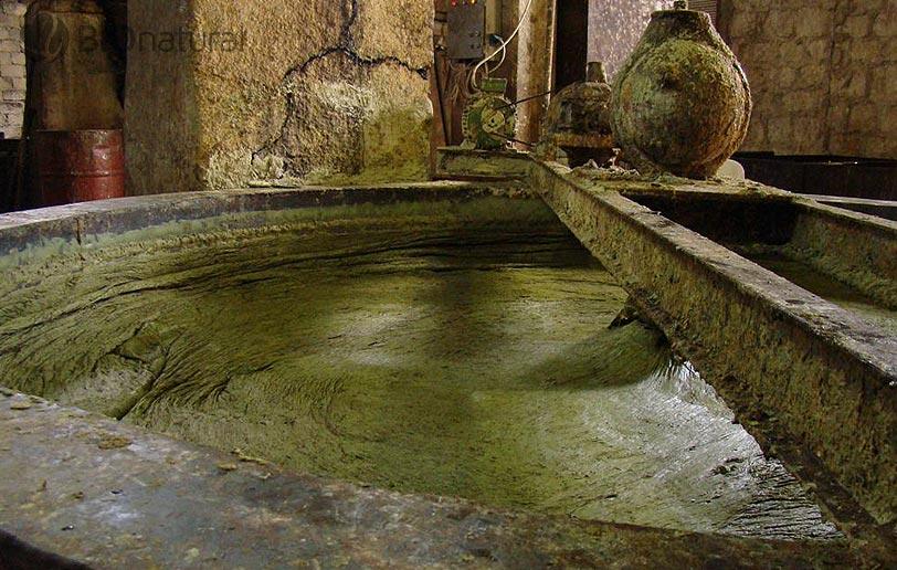 Výroba mydla Alep