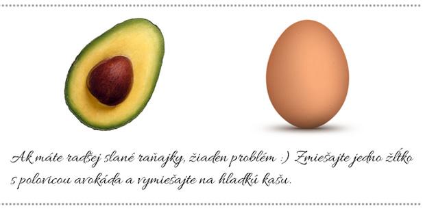 Hydratačná maska sa avokádom a vajíčkom