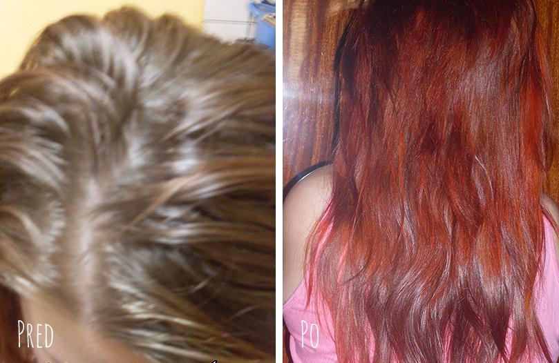 Mahagónová a medená henna Hnedá henna na vlasy ... bf0d41f5eaf