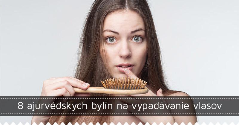 8 ajurvédskych bylín na vypadávanie vlasov