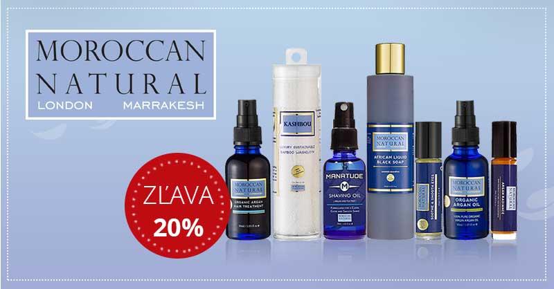 Moroccan Natural - zľava 20%